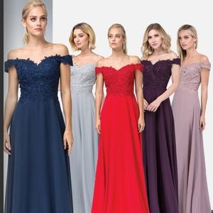 Bridesmaids dresses special occasions party prom